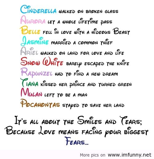 Cute Disney Quotes About Love