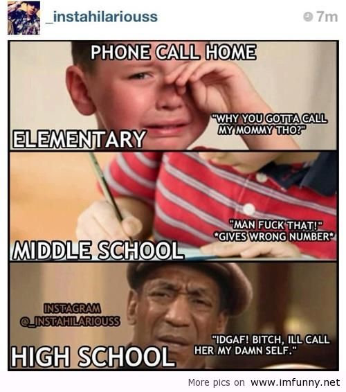 Funny Jokes About High School Funny Quotes Mi...