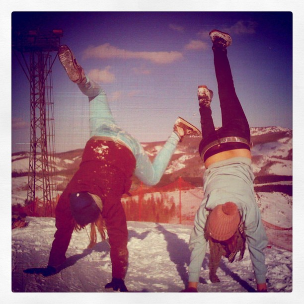 girls, snow, snowboard, girl, me