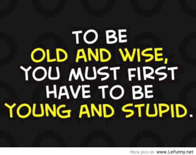Sooo, Exactly What Is Good About Getting Old???