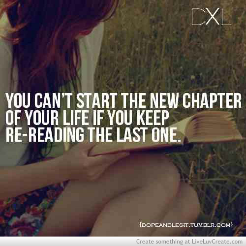 life inspirational advice re reading chapter image