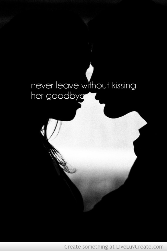 love, couples, cute, pretty, quotes - image #604504 on ... Love Couple Kiss With Quotes