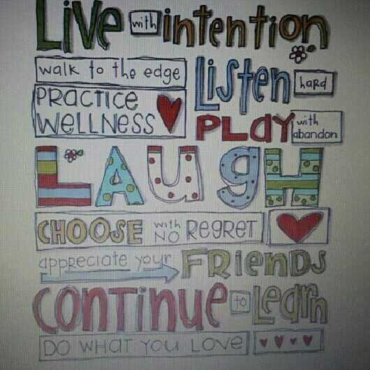 love quote words intention smile live life laugh, - image ...