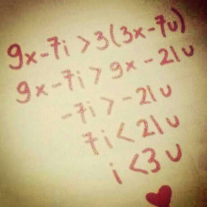 cute, love, maths, pretty, quote, quotes, the maths of love