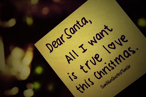 quote, christmas, snow, santa, sumnanquotes
