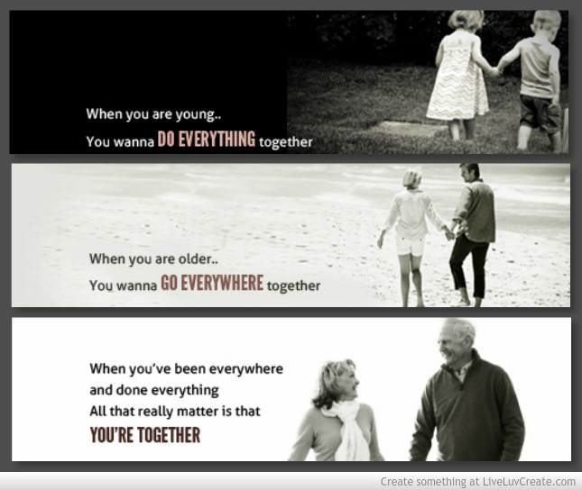 grow old, life, love, old 2gether, quotes, the - image ...