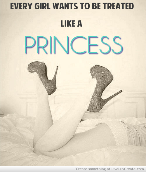 cute, fashion, like a princess, love, pretty, princess, quote, quotes, vintage