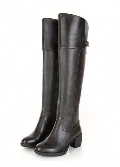 Tall Black Boots For Women - Cr Boot