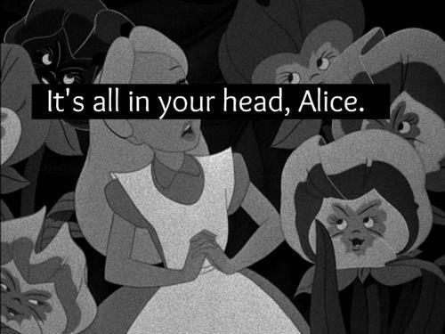 alice in wonderland, black and white, disney, movie