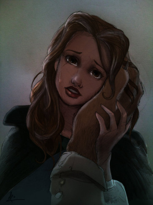 art, beauty and the beast, belle, disney - image #577486 ...