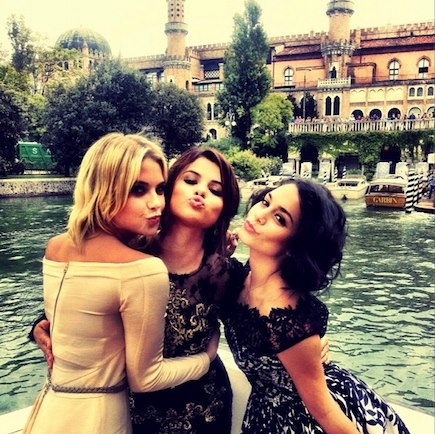 Was specially Ashley benson and selena gomez something is