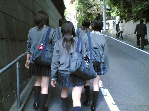 asian girl, girls, japanese, school