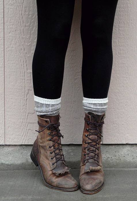 Autumn awesome boots chilly - image #611255 on Favim.com