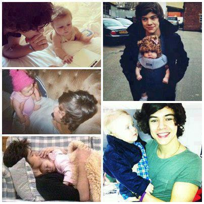 Direction on Awww  Baby Lux  Harry And Lux  One Direction   Inspiring Picture On