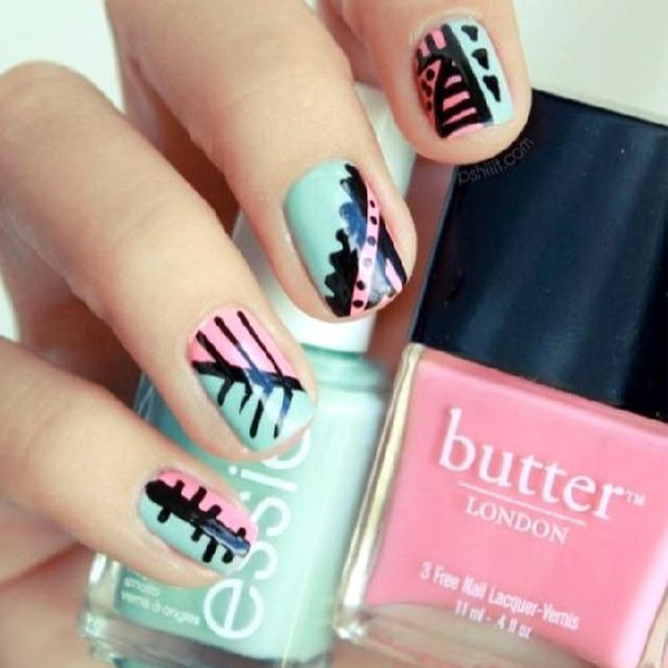 Cute Aztec Designs Aztec Cute Nail Nail Art