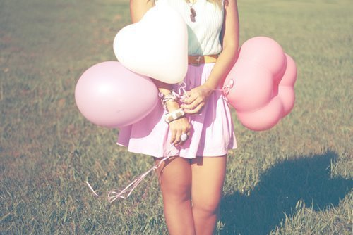 balloons, clothes, cute, fashion