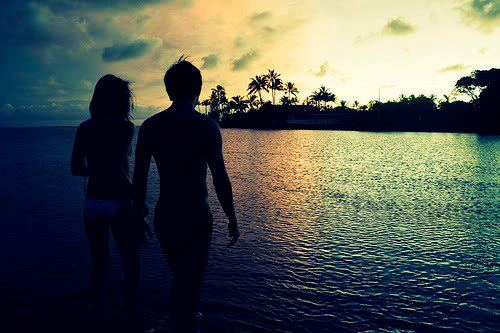 Beach couple cute love image 608468 on for Great love images