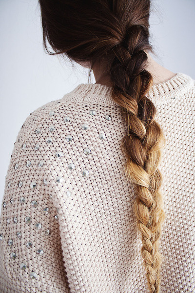 beautiful, beauty, braid, brunette