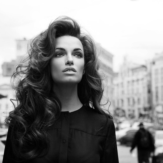 beautiful, big hair, curls, curly hair, fashion, long hair, model