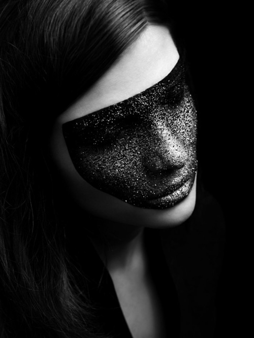 beauty, black and white, dark, fashion - image #610270 on ...