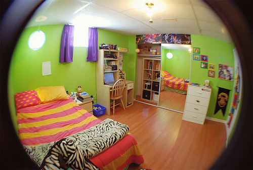 bedroom, big, cool, cute