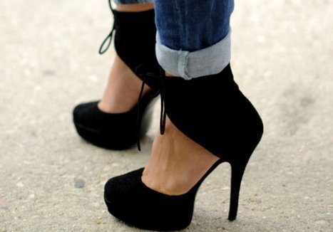 black, fashion, shoes, street, style