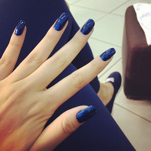Blue Cute Fashion Nails Image 583458 On
