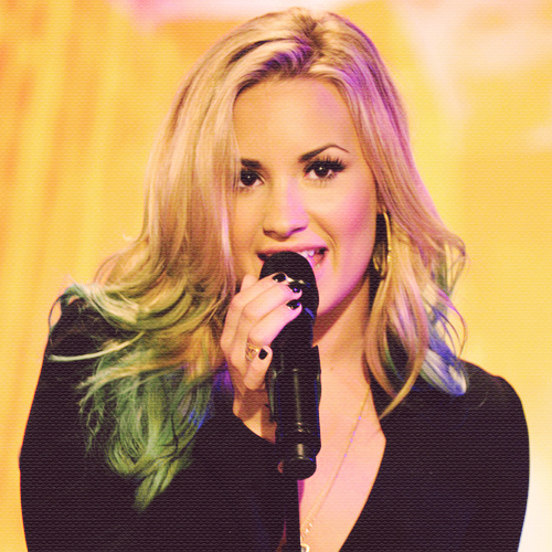 bluevato, concert, demi lovato, hair