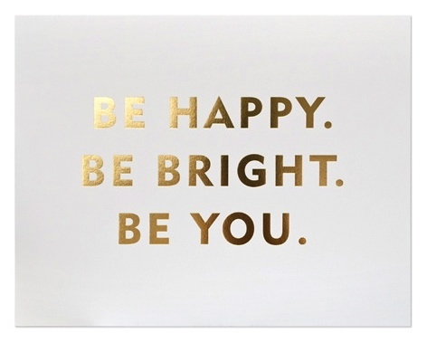 bright, gold, happy, quote, text, you