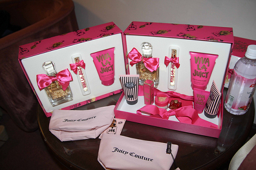 bow, couture, fragrance and juicy