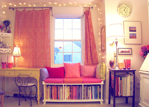 Cute girly pink room image 571287 on for Cute girly rooms