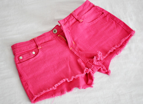 fashion, girly, mode, pink, shorts, style