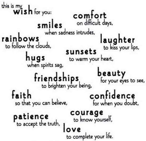 Friends Love Quotes Pics : Friends happy love quotes image on favim