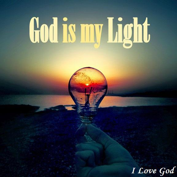 god is my light, inspire, jesus, love - image #605387 on ...