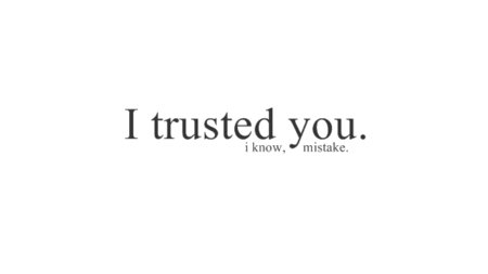 sad trust love quotes images