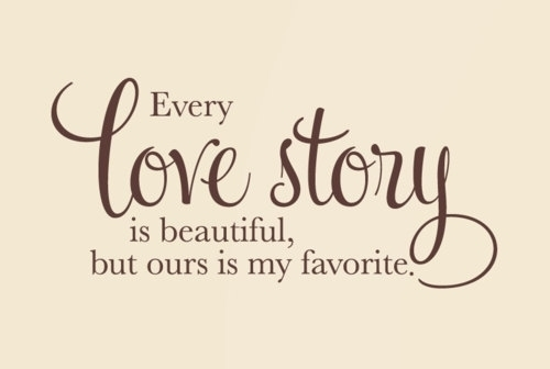 love story, quotes - image #575432 on Favim.com