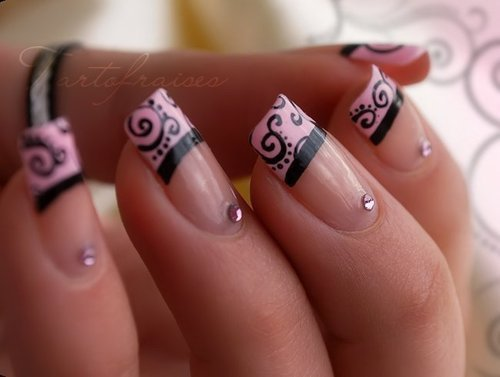 nails, nails art, nails design, pink nails  image 587764 on Favim