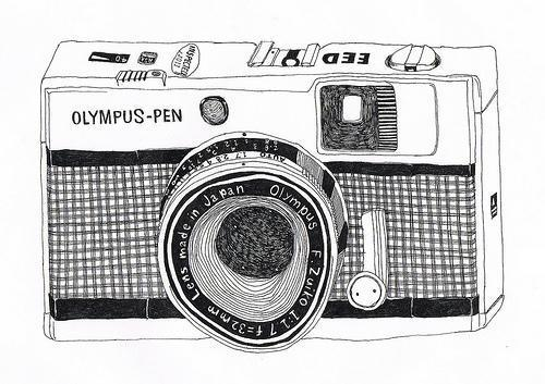 Olympus camera draw photograph image 598939 on for Camere dwg