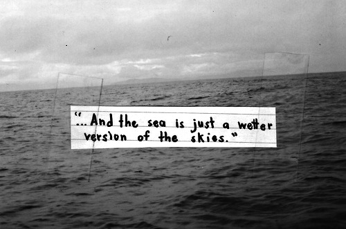 quote sea n sky text image on com