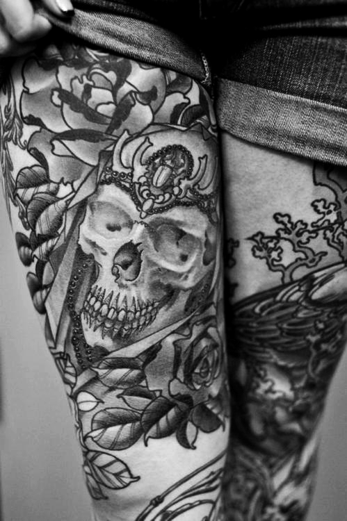tattoos awesome black and white cool image 598456 on